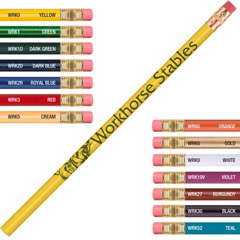 Workhorse Value #2 Pencil #WRK