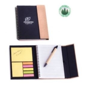Spiral Notebook w/Pen